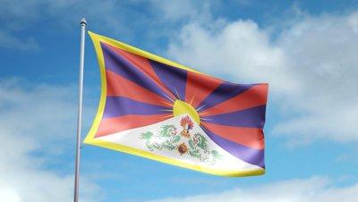 Tibeto vėliava
